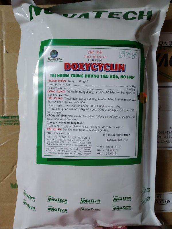 DOXYLYN  (Đặc trị các bệnh trên đường hô hấp do vi khuẩn, đặc biệt do mycoplasma)