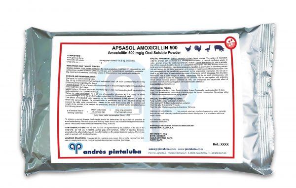 APSASOL AMOXICILLIN 500